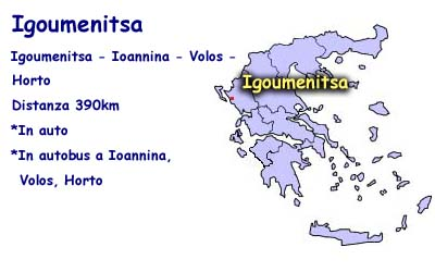 Hwo to come from Igoumenitsa to Horto