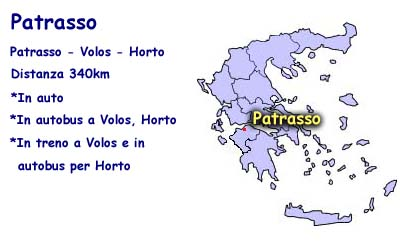 How to come from Patra to Horto